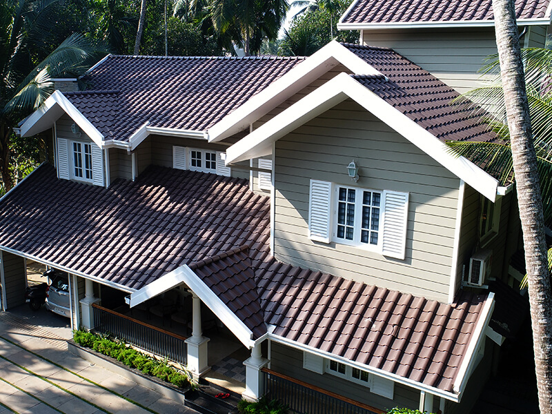 Buy Best Quality Spanish Series Roof Tiles Lamit Roof Tiles